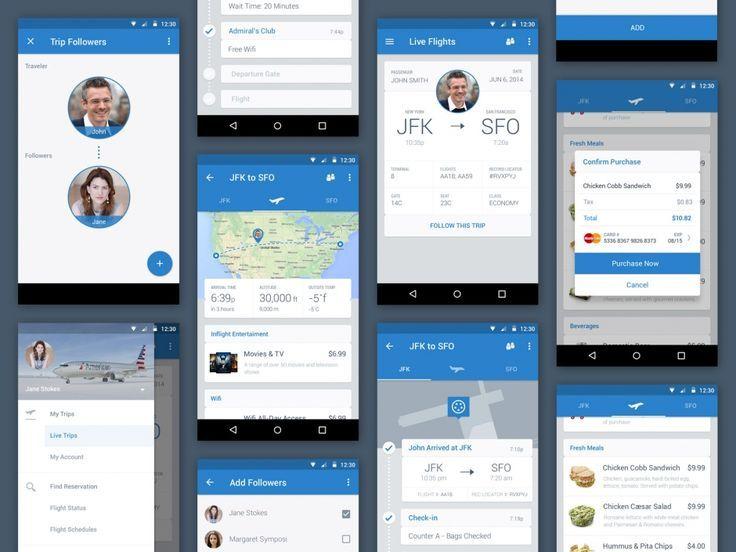 airline app | Mobile UI: Travel | Pinterest | Mobile ui