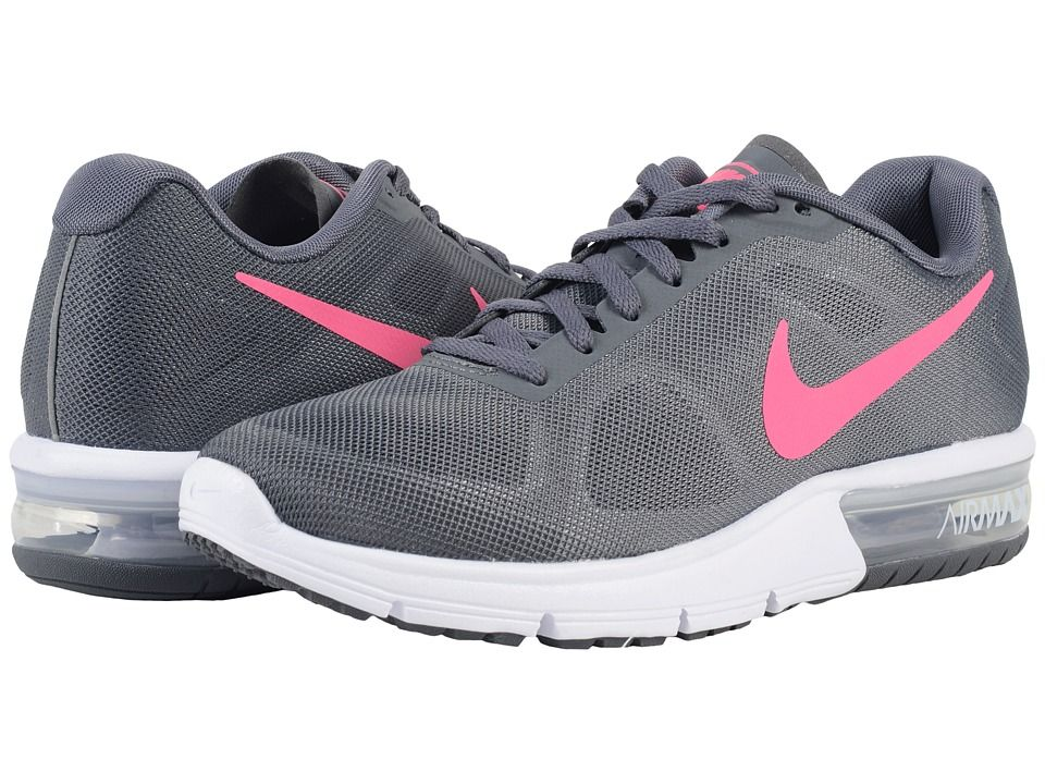 NIKE NIKE - AIR MAX SEQUENT (DARK GREY/WHITE/BLACK/HYPER PINK
