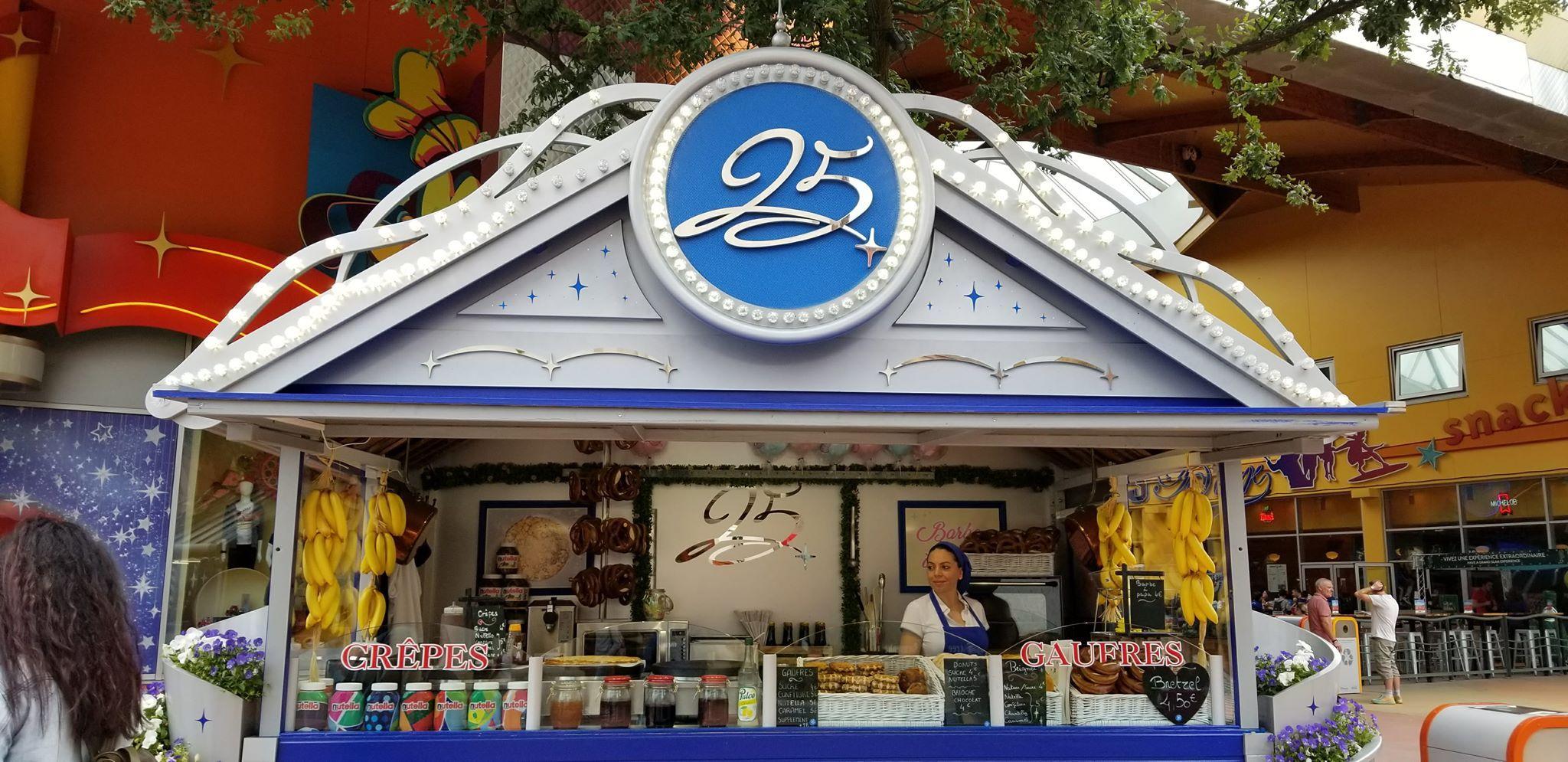 Disneyland Paris 25th Anniversary Sweet Treats from Disney ...