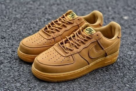 timeless design a51f8 c476b Nike Air Force 1 Wheat Low -  56.95   nike shoes   Scoop.it
