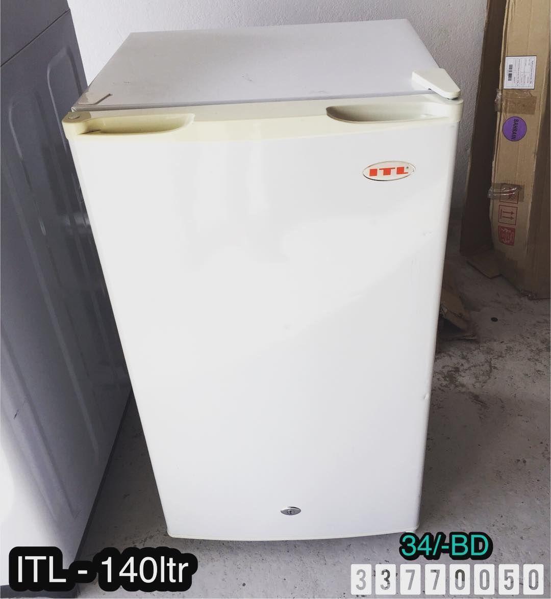 For Sale Itl Refrigerator 140ltr Model Yz 140l Excellent Condition Price 34 Bd للبيع ثلاجة صغيرة ماركة Itl 140 لتر Trash Can Tall Trash Can Trash