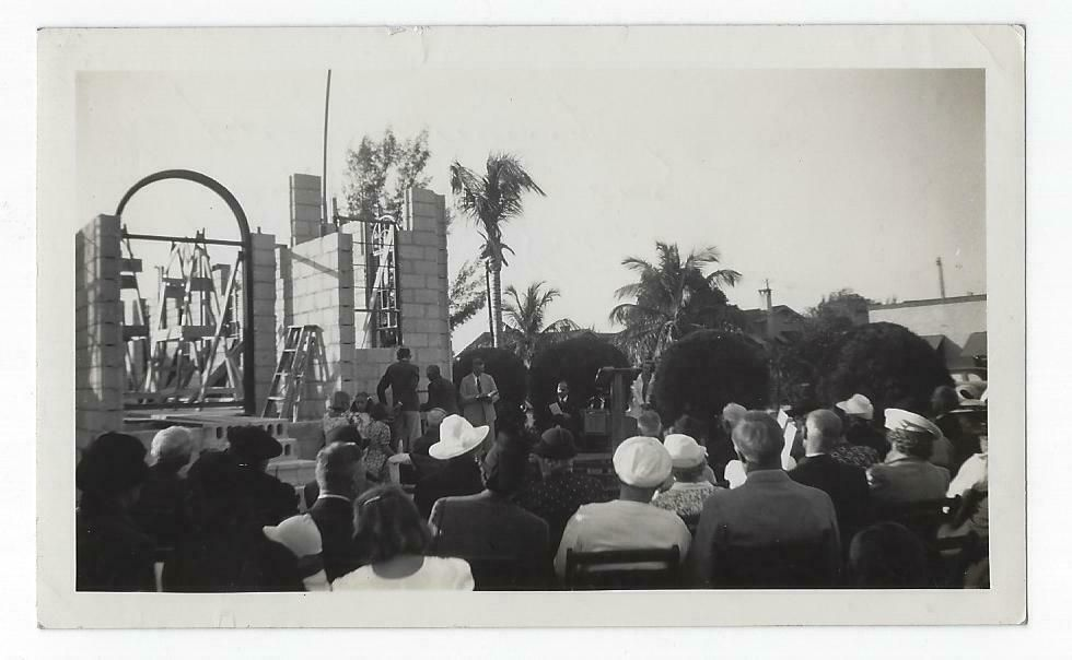 Details About 1939 Photo Lake Worth Fl Our Savior Lutheran