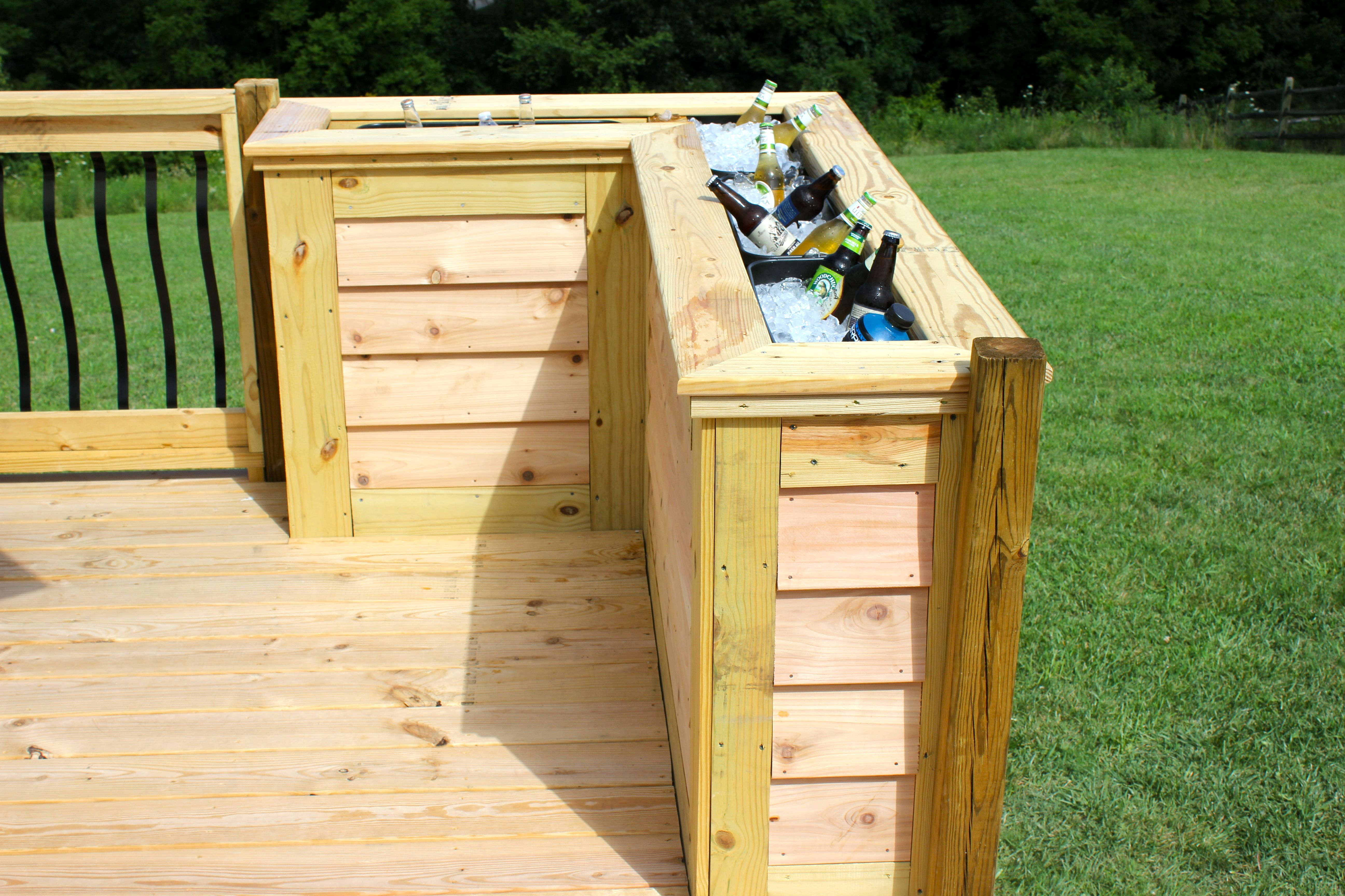 DIY Deck Cooler Home sweet home Pinterest