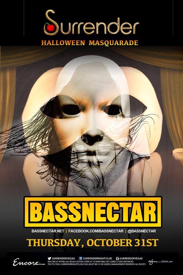 Bassnectar Masquerade Las Vegas Halloween | Artists & Music ...