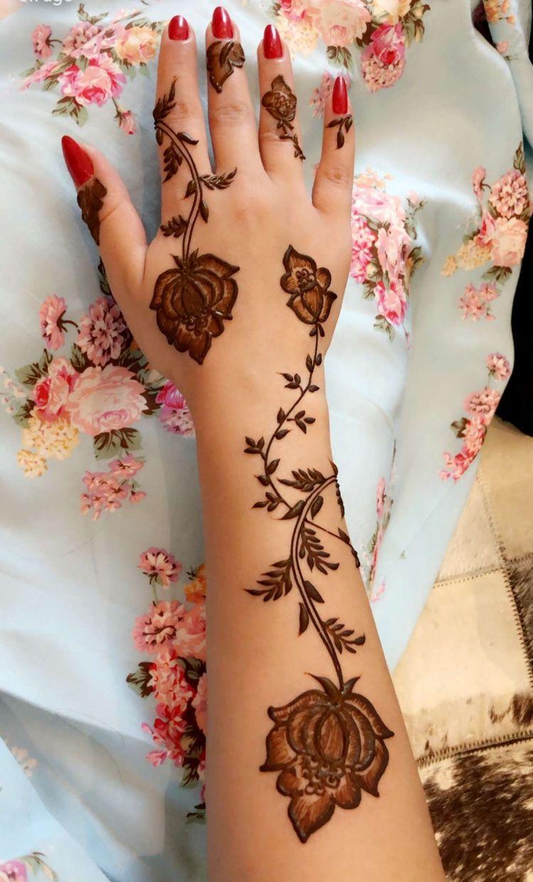 Pin By مريم المنذري On Henna Finger Henna Designs Latest Mehndi Designs Henna Designs Hand