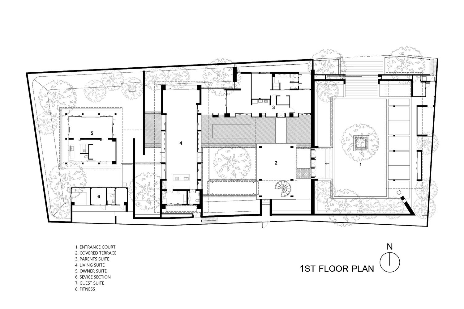 Gallery Of Rmt14 Residence Design Identity Unit 19 Floor Plans Residences House Layouts