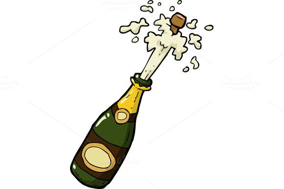 Champagne Bottle Shot Champagne Bottle Bottle Drawing Champagne