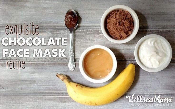 DIY Chocolate Face Mask Recipe Make your skincare deliciously simple by roundin… –