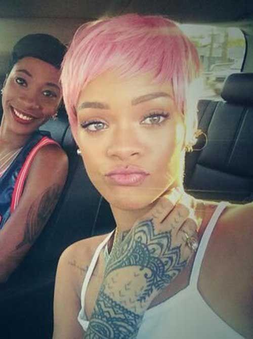 Pink Pixie Cut Wig : pixie, Haircut