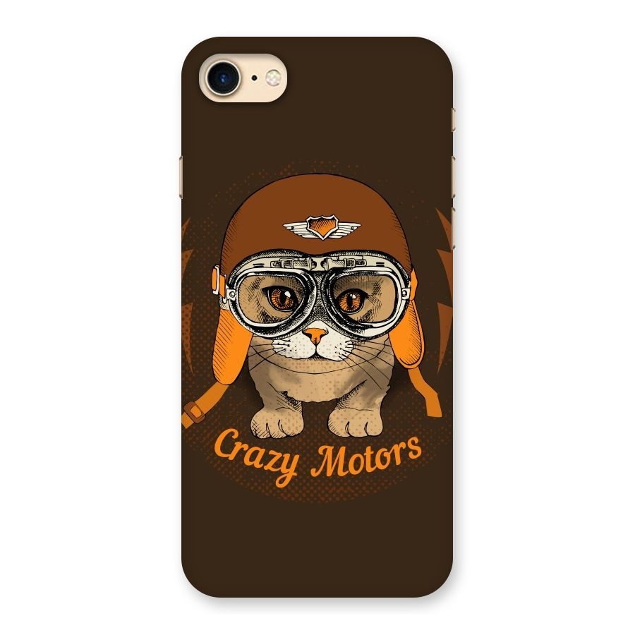 Crazy cat Back Case for iPhone 7 | Mobile Phone Covers & Cases in India Online