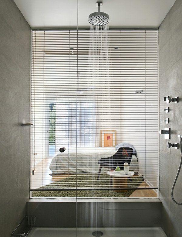 Duschkabine Schlafzimmer kleines Bad gestalten zitate - schlafzimmer mit badezimmer
