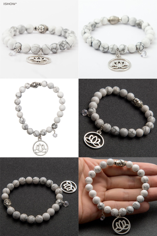 Visit to buy new cm buddha bracelet women men lotus zircon