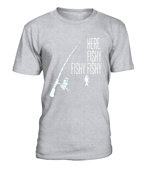 d4eecf38 Funny Fishing TShirt Here Fishy Fishy Fathers Day Gift   Jobs Und ...