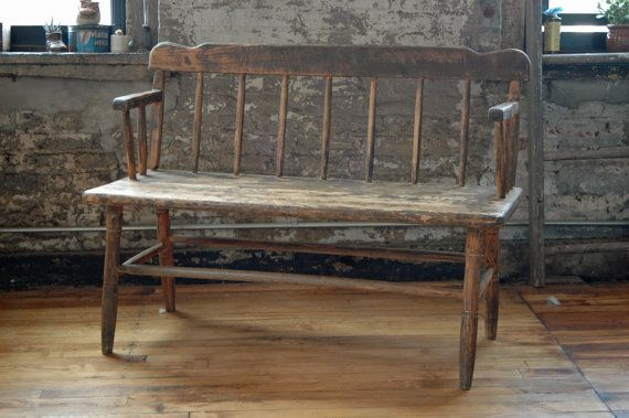 Vintage Pine Beacons Bench Dining