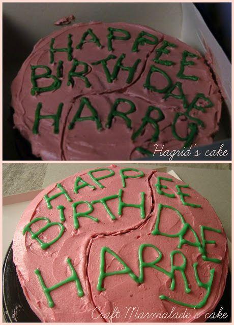 Harry Potter Birthday Cake Chocolate Layer Cake And Raspberry