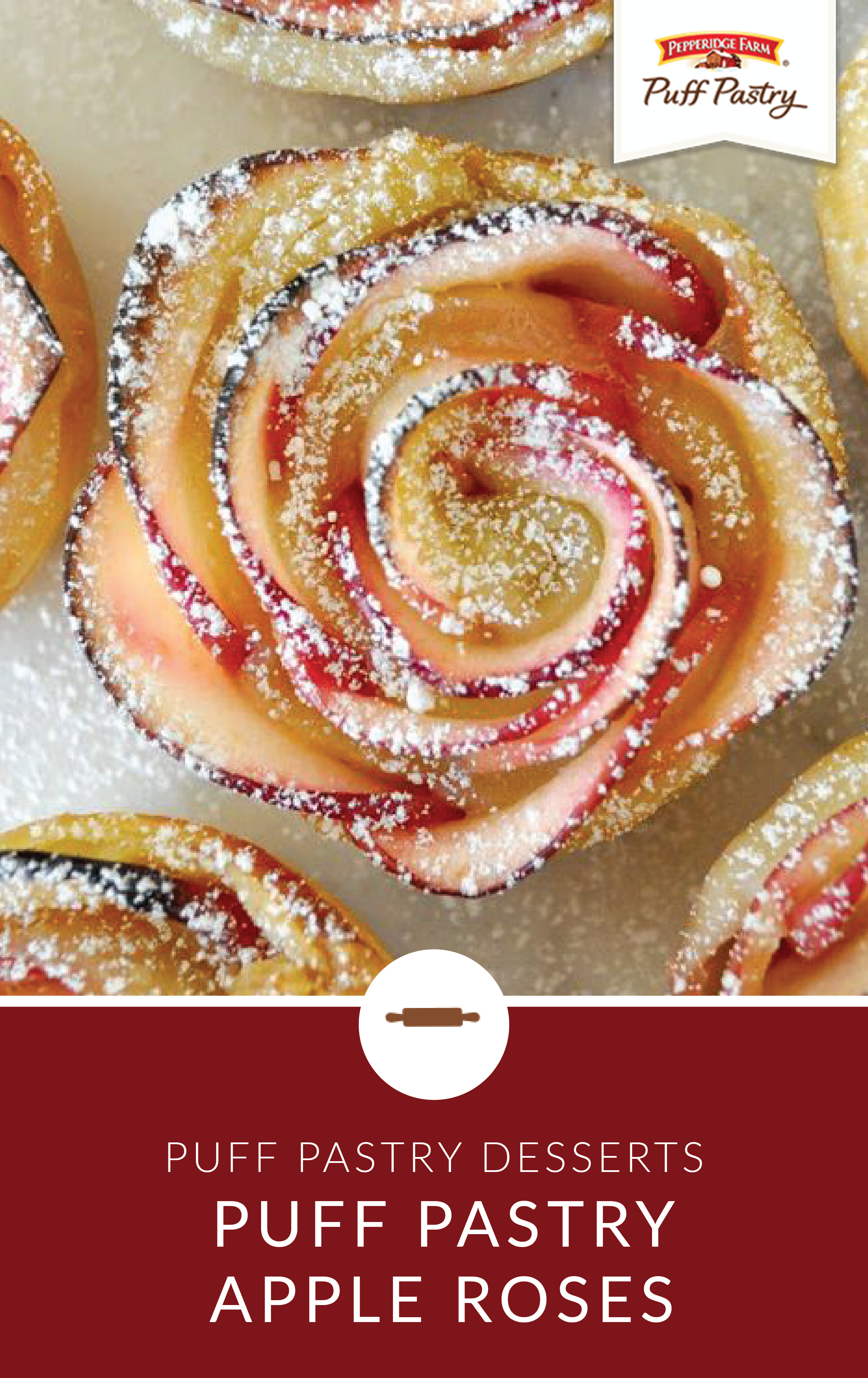 Apple Roses - Puff Pastry