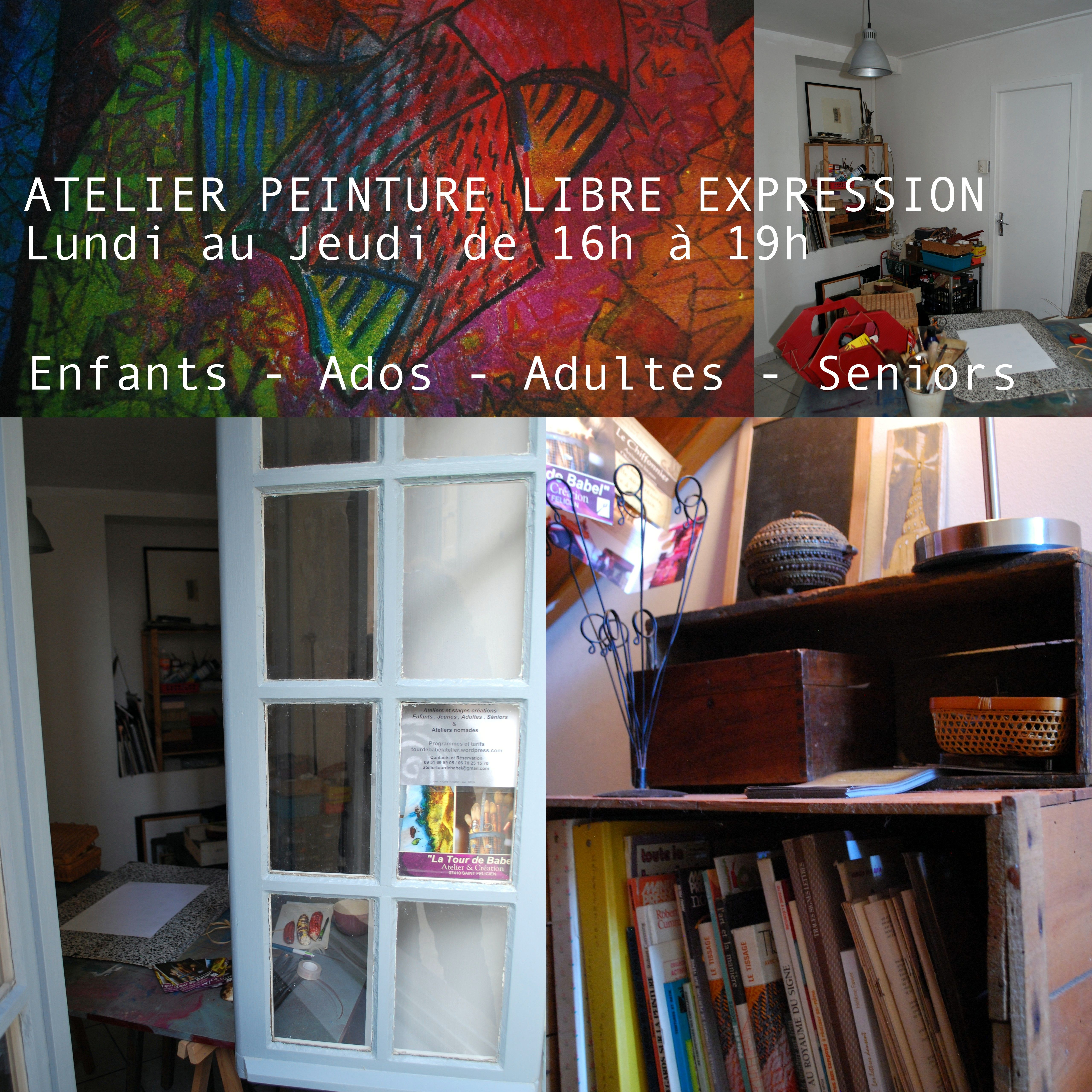 """""""La Tour de Babel"""" Atelier."""