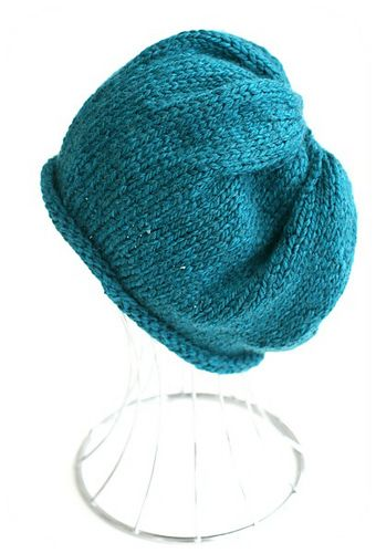 Ravelry Project Gallery For Simple Slouchy Beanie Pattern By Kelly