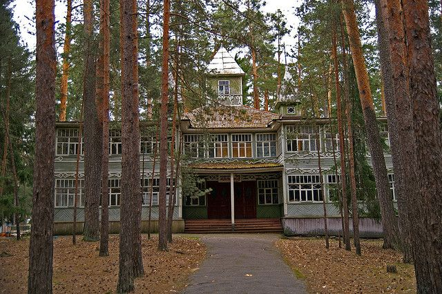 old wooden house in the forest - elephantr's photos on flickr