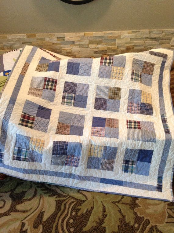 Memorial Quilt❤️THEY MAKE QUILTS FROM YOUR LOVED ONES CLOTHES ... : memorial quilt patterns - Adamdwight.com