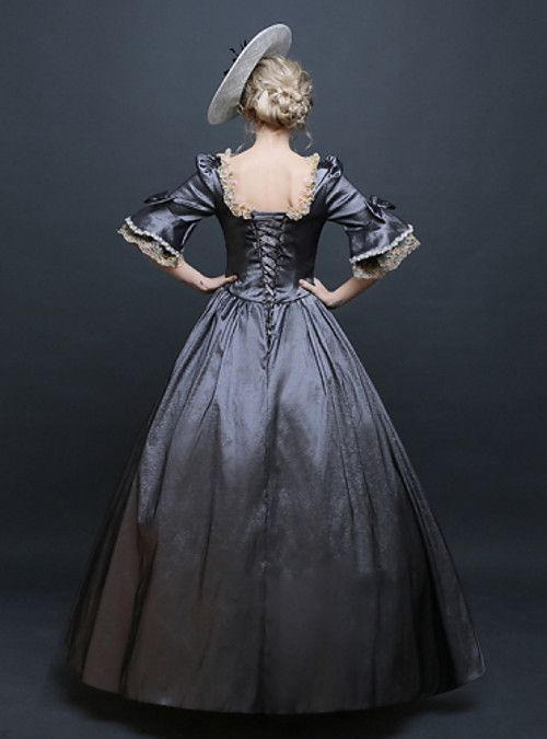 Rococo Victorian 18th Century Costume Women's Dress Party Costume Masquerade Ball Gown Silver Vintage Cosplay Lace Silk Satin Party Prom Bell Sleeve Floor Length Ball Gown Plus Size Customized 2019 - US $112.19 #masqueradeballgowns Rococo Victorian 18th Century Costume Women's Dress Party Costume Masquerade Ball Gown Silver Vintage Cosplay Lace Silk Satin Party Prom Bell Sleeve Floor Length Ball Gown Plus Size Customized 2019 - US $112.19 #masqueradeballgowns
