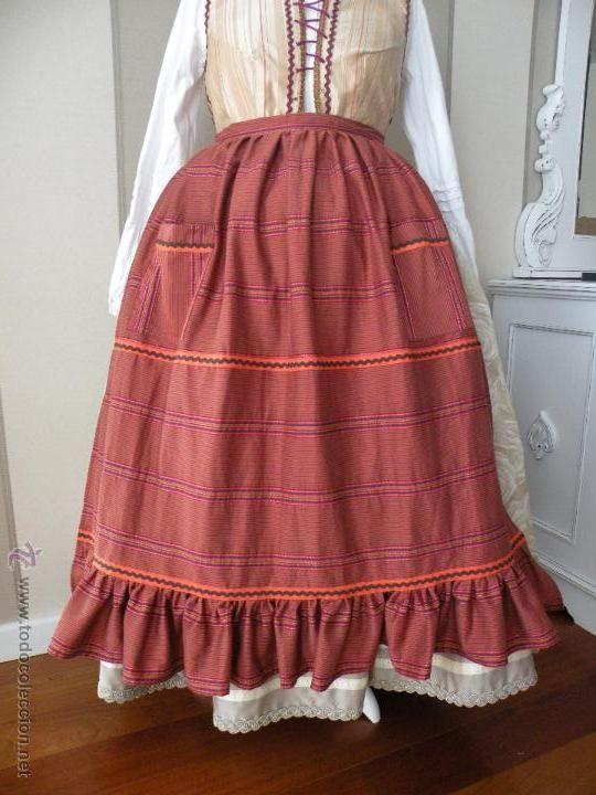 a2bf587ac delantal para traje regional | mascareo | Vestimenta tradicional ...