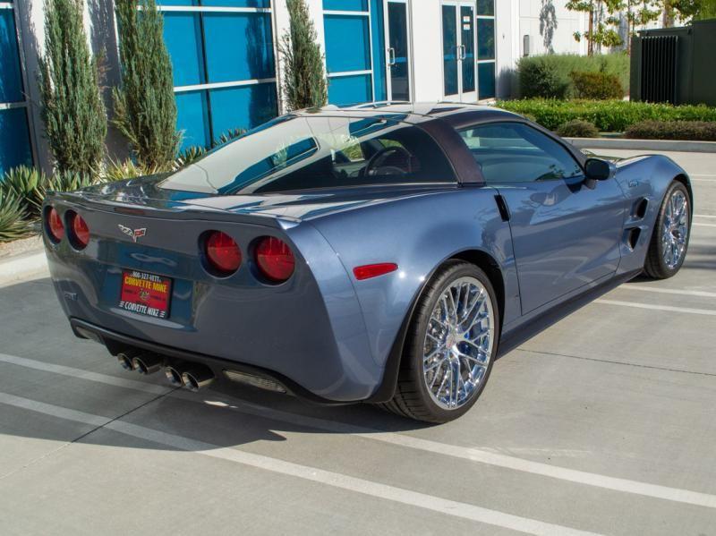 2011 Corvette Coupe For Sale In California 2011 Supersonic Blue Corvette Zr 1 Coupe Corvette Chevy Corvette For Sale Used Corvette