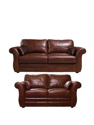 Vantage Seater Seater Leather Sofa Set Buy And SAVE Http - Leather sofas and chairs uk