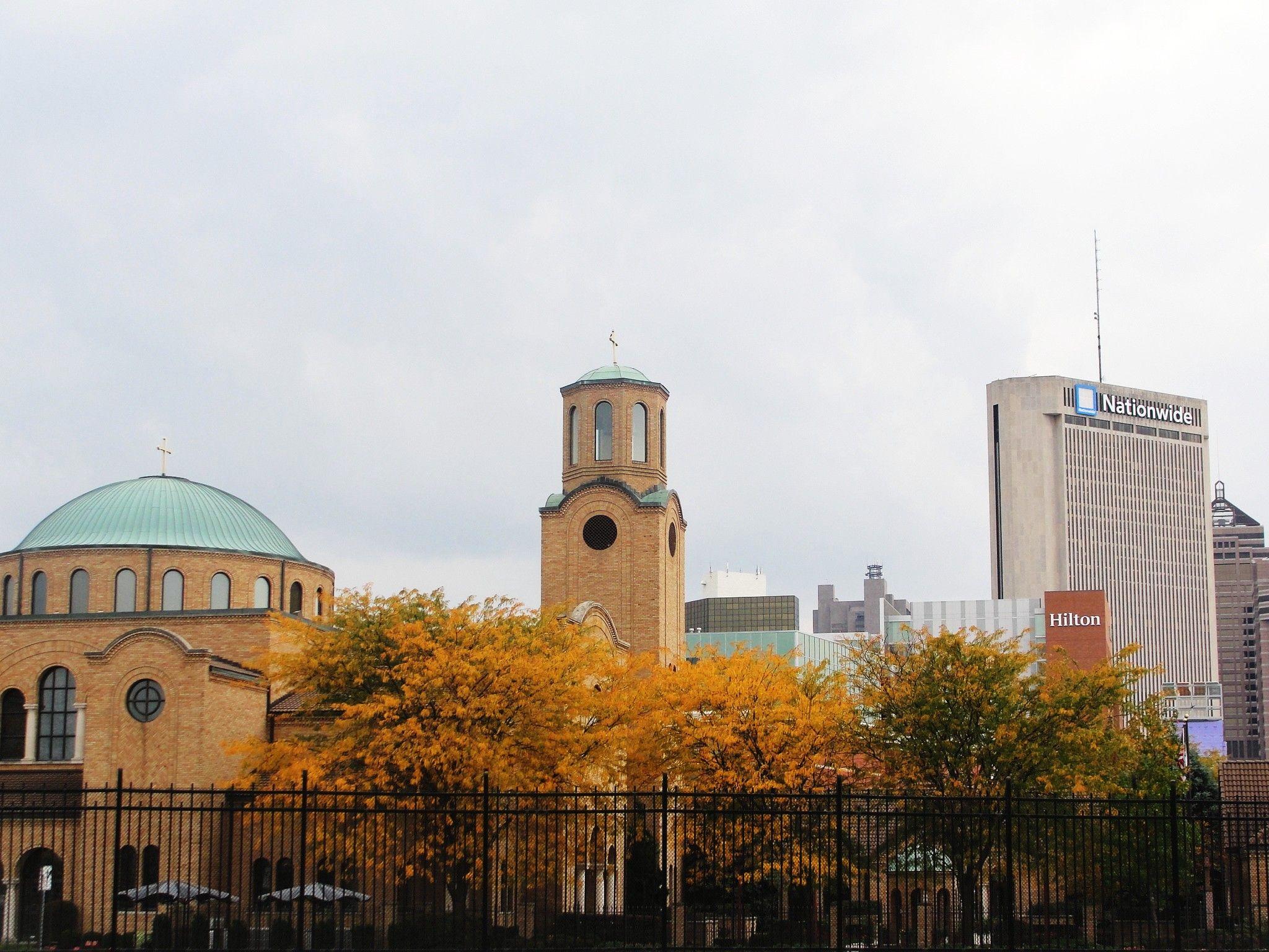 Columbus in the fall places taj mahal columbus