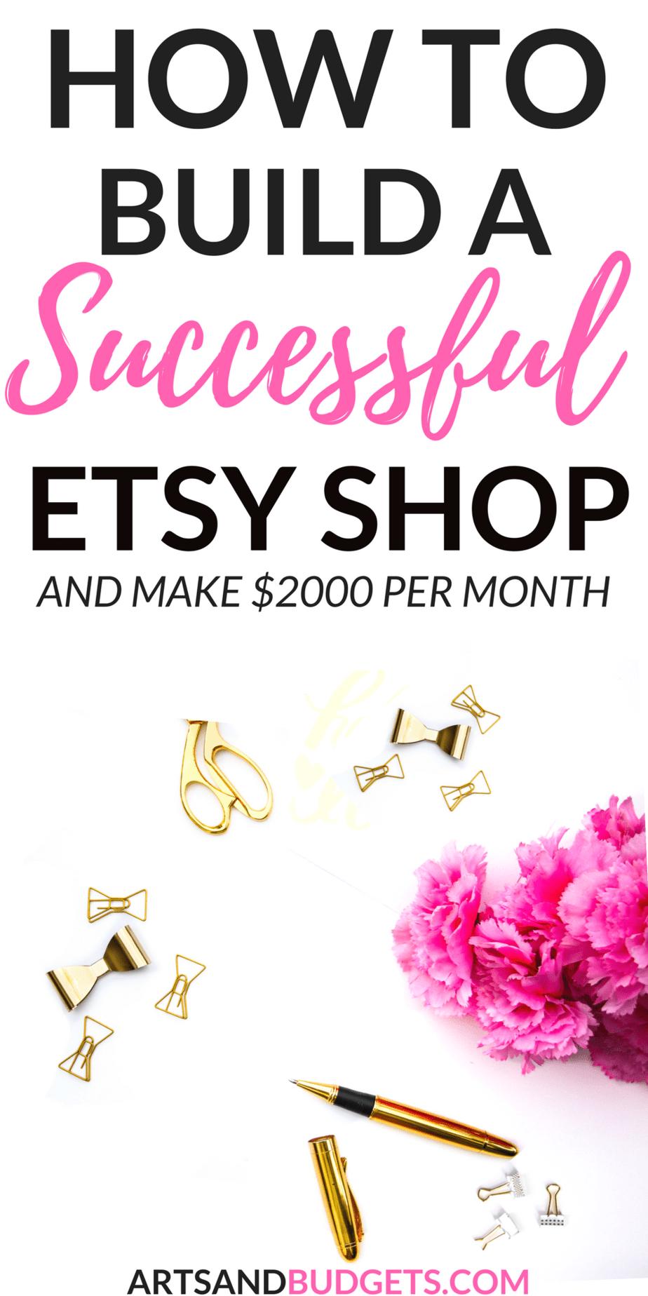 So bauen Sie einen erfolgreichen Etsy-Shop auf und verdienen Geld von zu Hause aus   – cricut