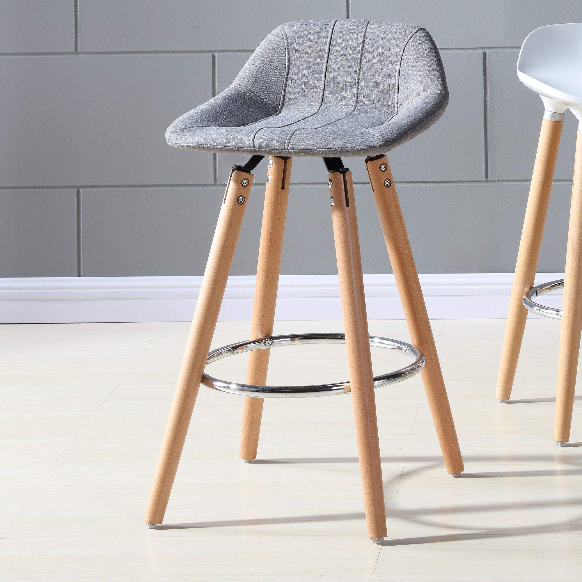 Armen Living Igloo 26 In Low Back Counter Stool Add A Few Armen Living 26 Inch Igloo Low B Bar Stools With Backs Swivel Bar Stools Counter Height Bar Stools