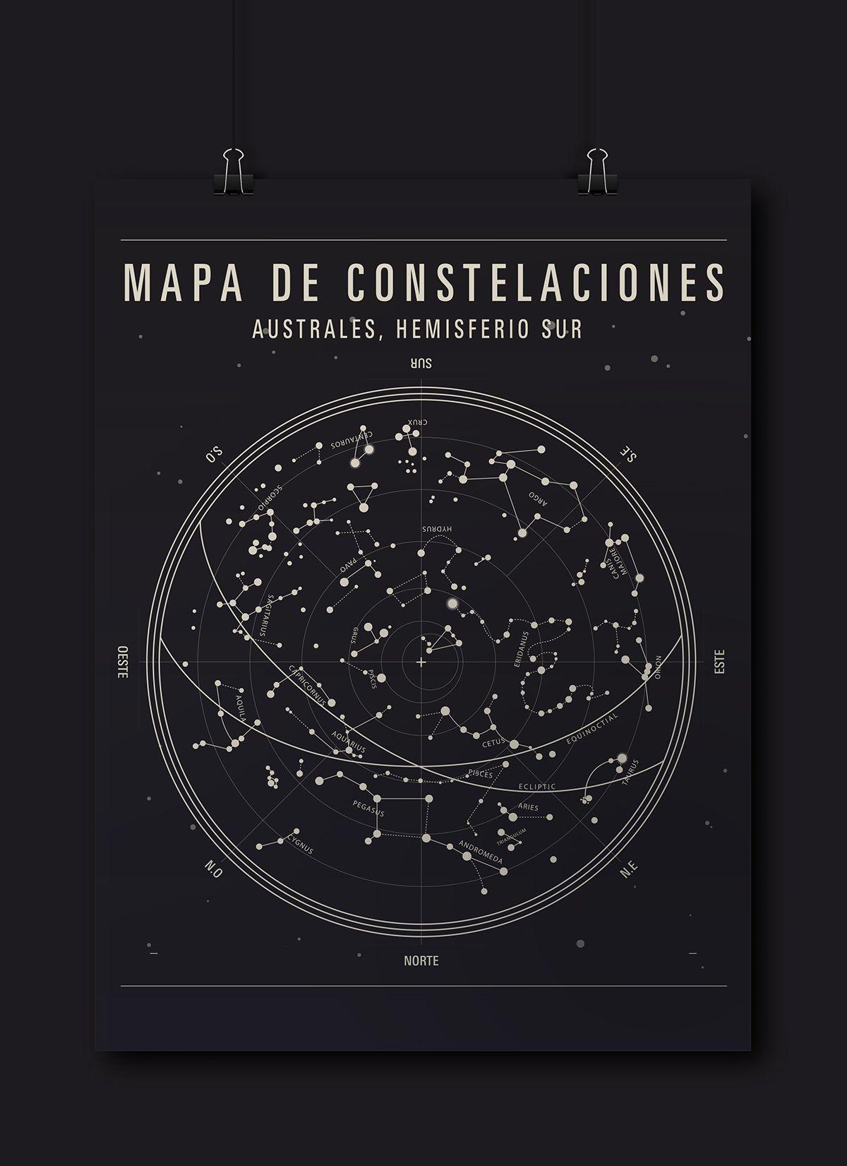 Constelaciones Vs Tipografia On Behance