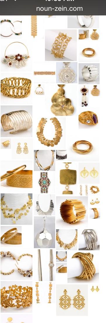 Jewelry Designer Nada Zeineh of NounZein Website wwwNounZeincom