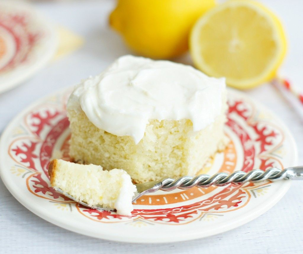 Lemon Cake With Sour Cream Lemon Icing Recipe Sour Cream Cake Lemon Icing Lemon Cake