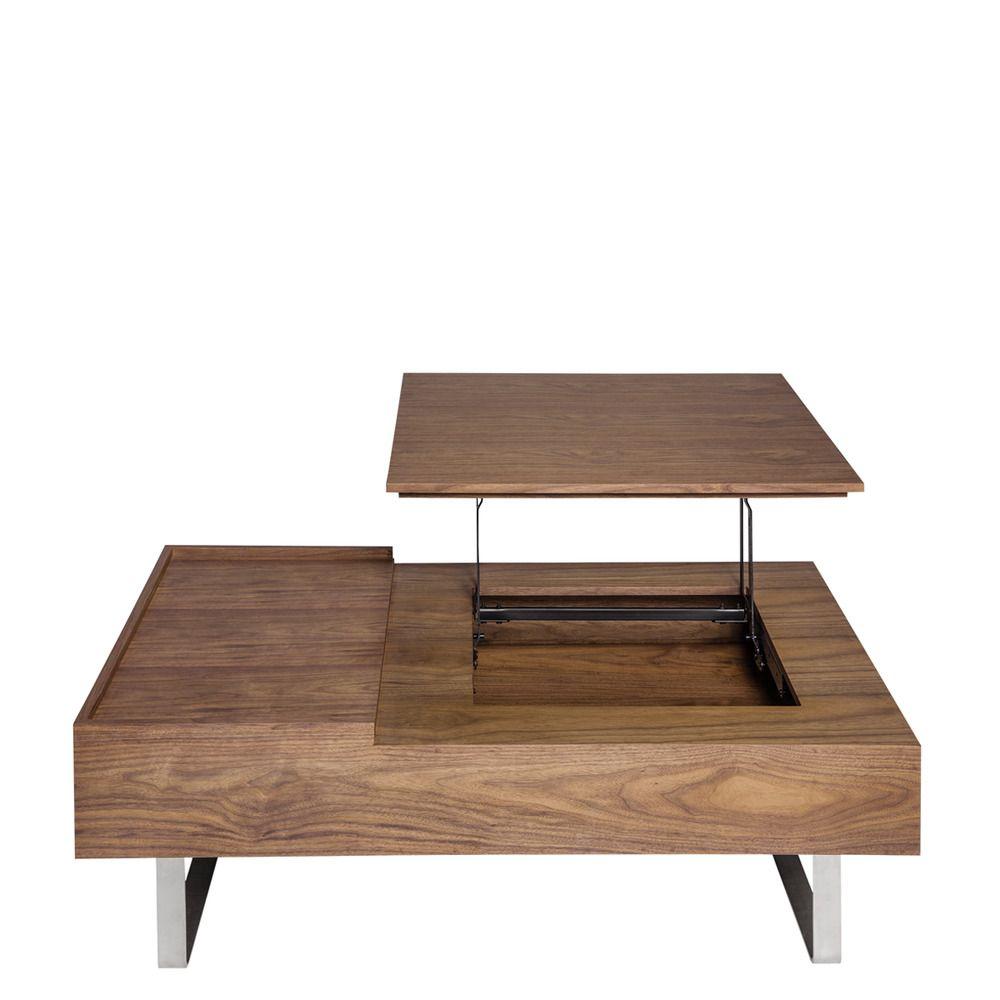 mesa de centro elevable hudson saln comedor mesas de centro el corte