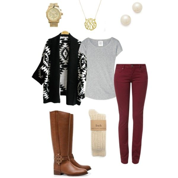 Another fall outfit, created by lyanders on Polyvore