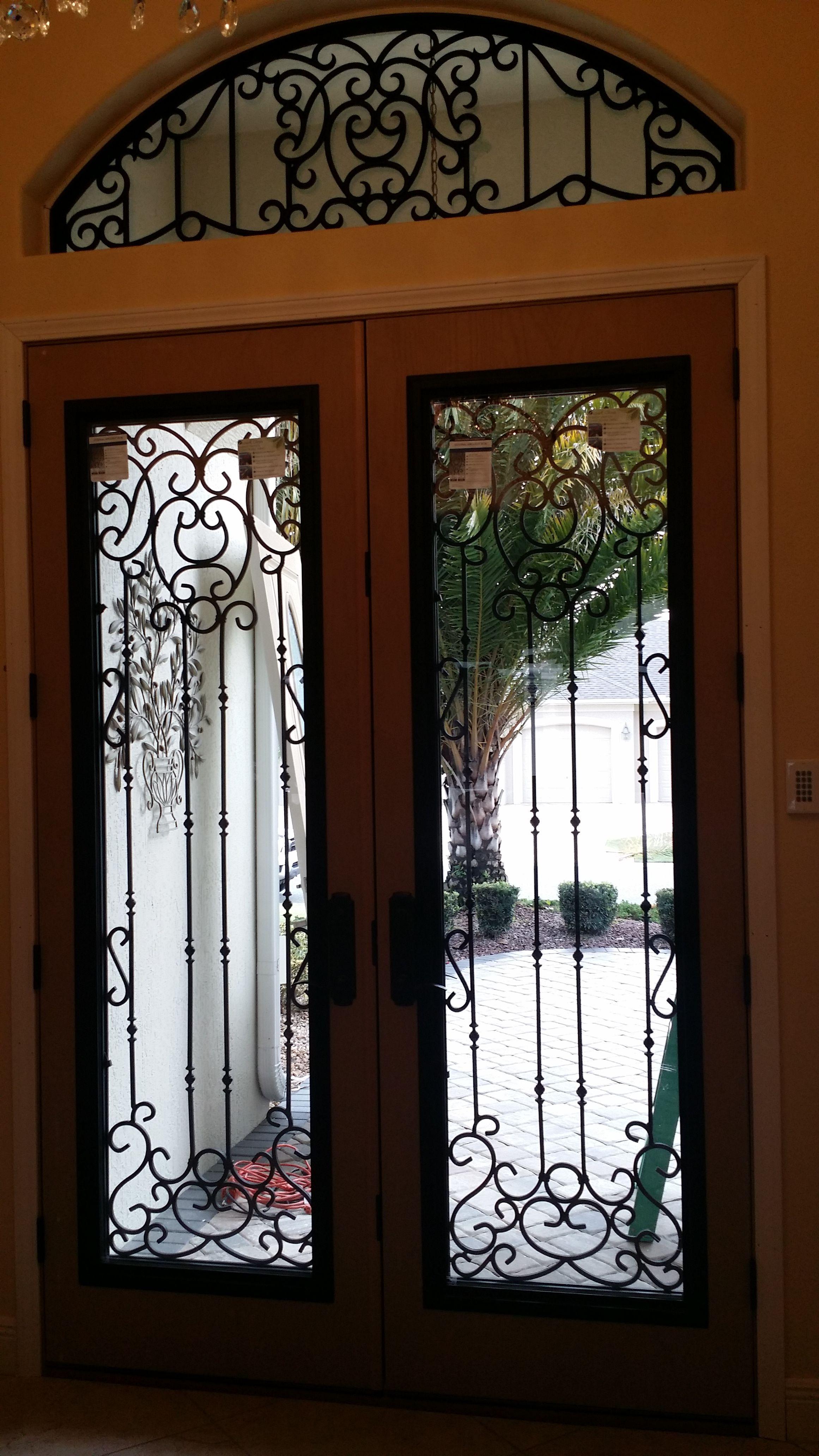 Wrought Iron Design Front Door Designs Pinterest Front Door