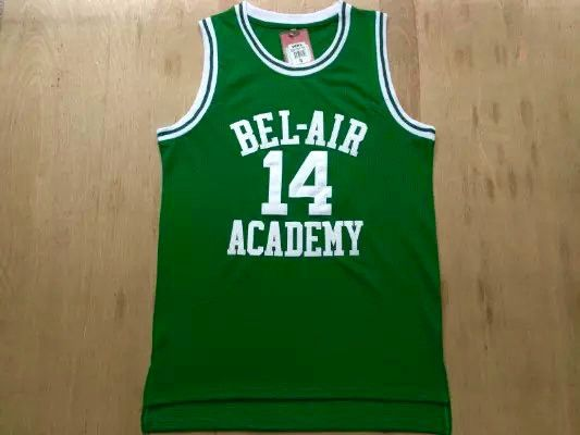 14 The Fresh Prince of Bel-Air Will Smith Bel-Air Academy Basketball Jersey  (3… dc019e415