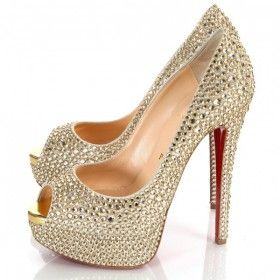 finest selection 2625a aa208 Luxurious 2012 Christian Louboutin Lady Peep 150mm Ring ...