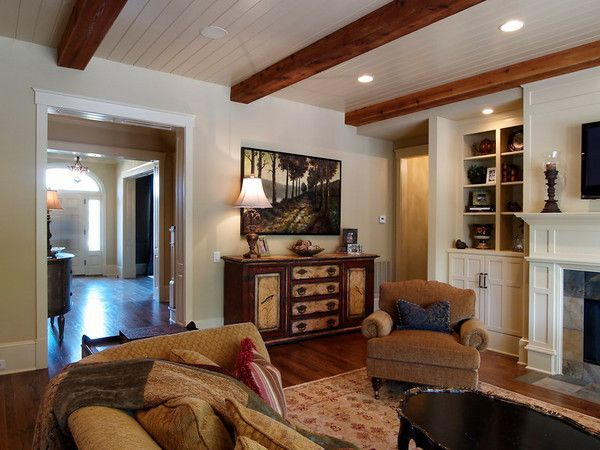 Painting Exposed Wood Ceiling: Coffers & Beams - CarolinaBuildingServices In 2019