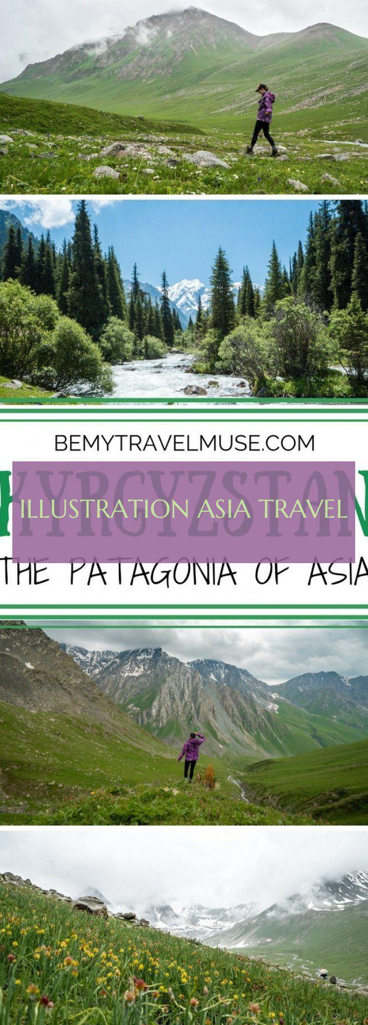 Illustration Asia Travel Illustration Asia Travel