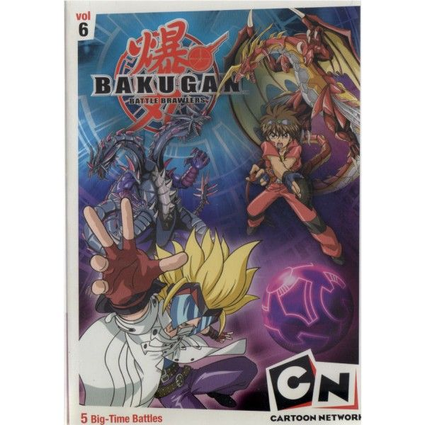Dvd Cartoon Bakugan Battle Brawlers Vol 6 Cartoon Network