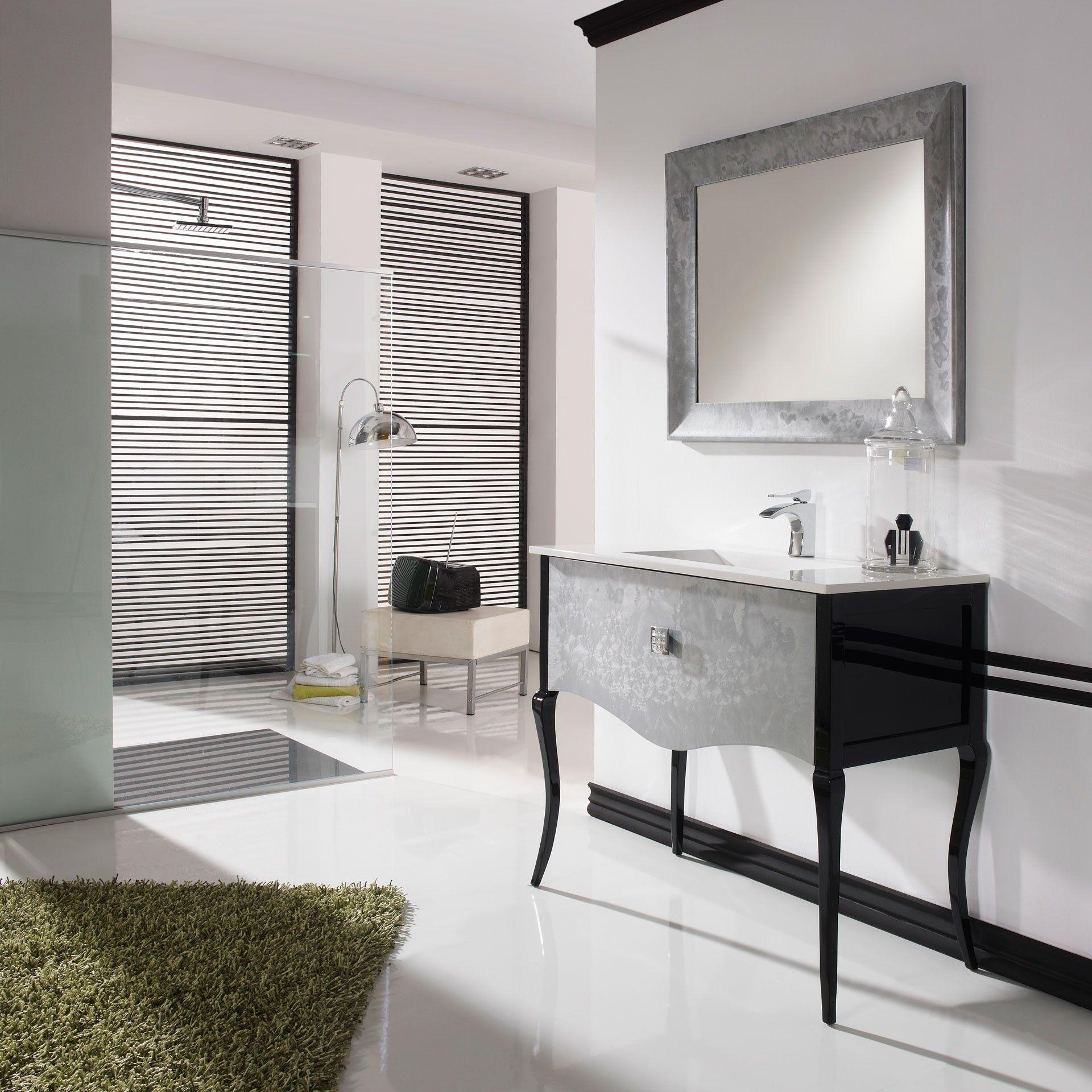 Mueble de ba o bruno combinado de 100 cm muebles de for Muebles de lavabo de 70 cm