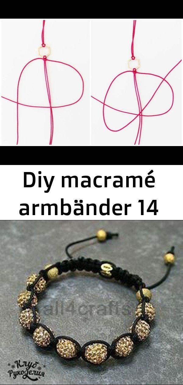 Diy macramé armbänder 14 #wanddekoselbermachen