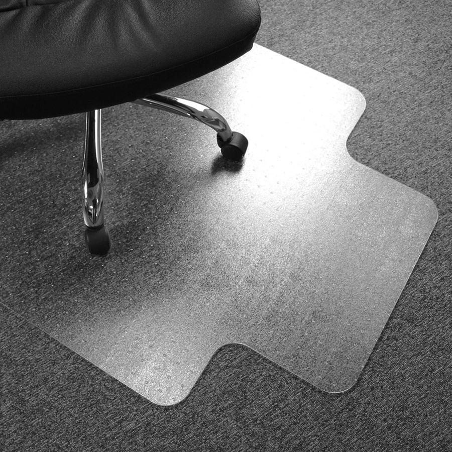 Advantagemat Vinyl Rectangular Chair Mat For Carpets Up To 1 4