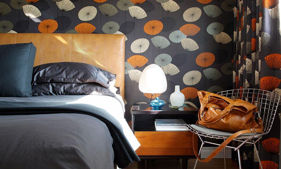 Best Lori Andrews Interiors Portfolio Mid Century Bedroom 400 x 300
