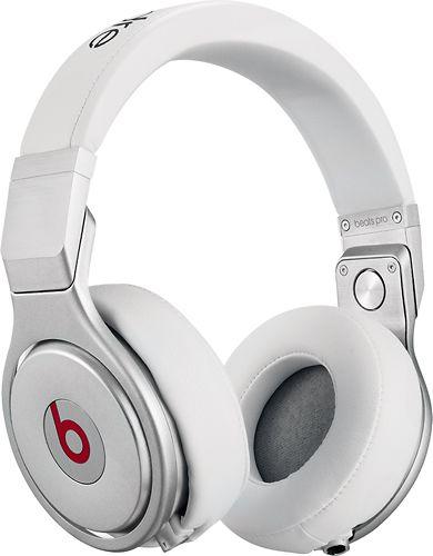 Beats By Dr Dre Beats Pro On Ear Headphones White Bt Ov Pro Wht Best Buy In Ear Headphones Over Ear Headphone Studio Headphones
