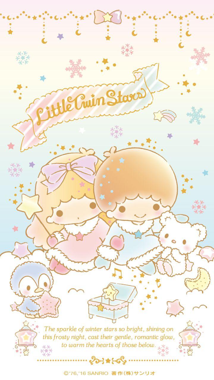 Little Twin Stars Wallpaper 16 十二月桌布 日本草莓新聞 Stargazer Little Twin Stars Hello Kitty Images Sanrio Wallpaper