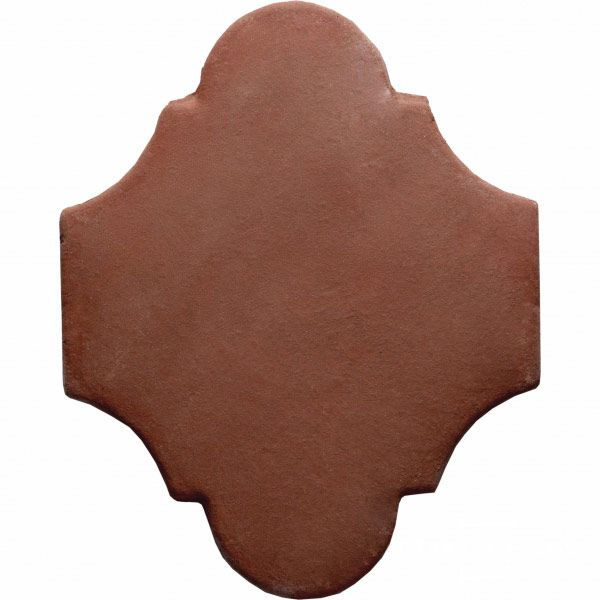 12 Inch Arabesque 1 Handcrafted Lincoln Red Terra Cotta Saltillo Floor Tile Tile Floor Terracotta Tiles Terracotta Floor