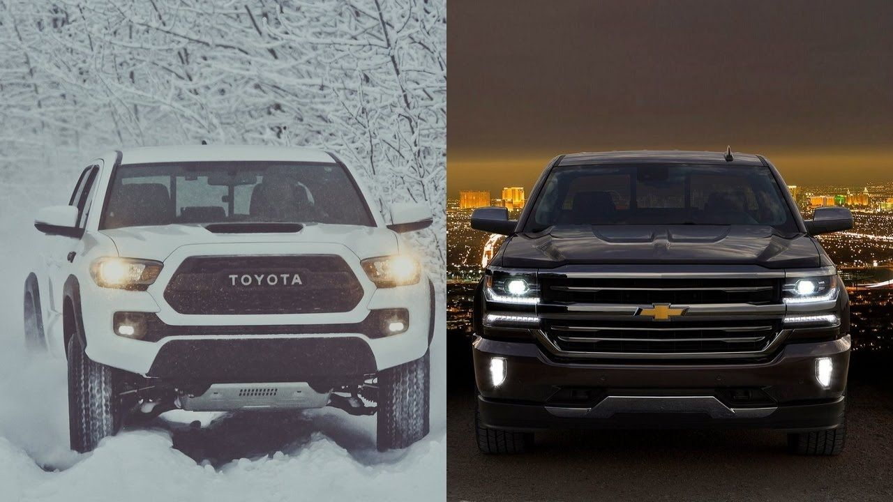 2017 Toyota Ta a TRD PRO vs 2016 Chevrolet Silverado